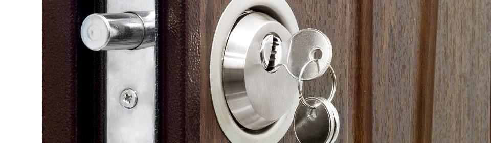 penslot met sleutel erin